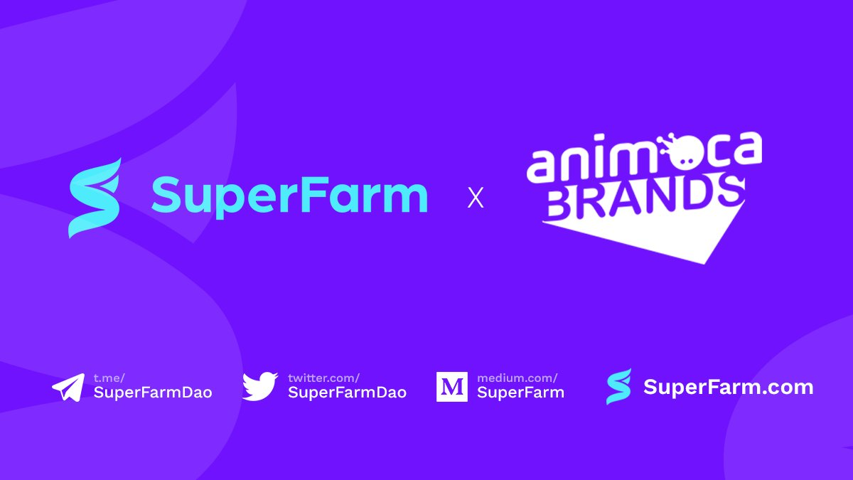 SuperFarm x Animoca Brands