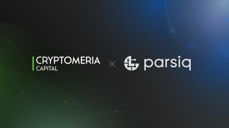 Cryptomeria Capital x PARSIQ Partnership
