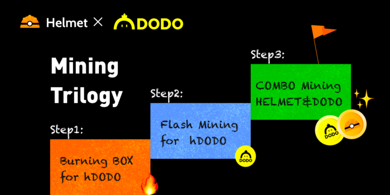 TOP DRAWER Mining Campaign for $HELMET & $DODO