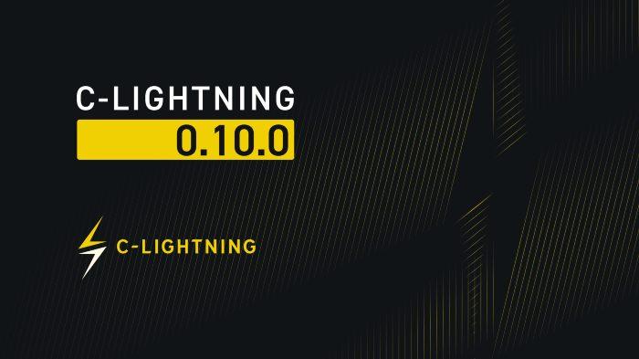 C-lightning v0.10.0 Release