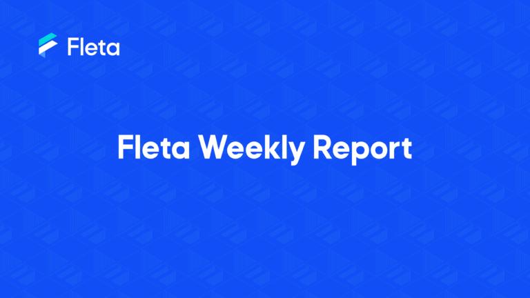 FLETA Weekly Report