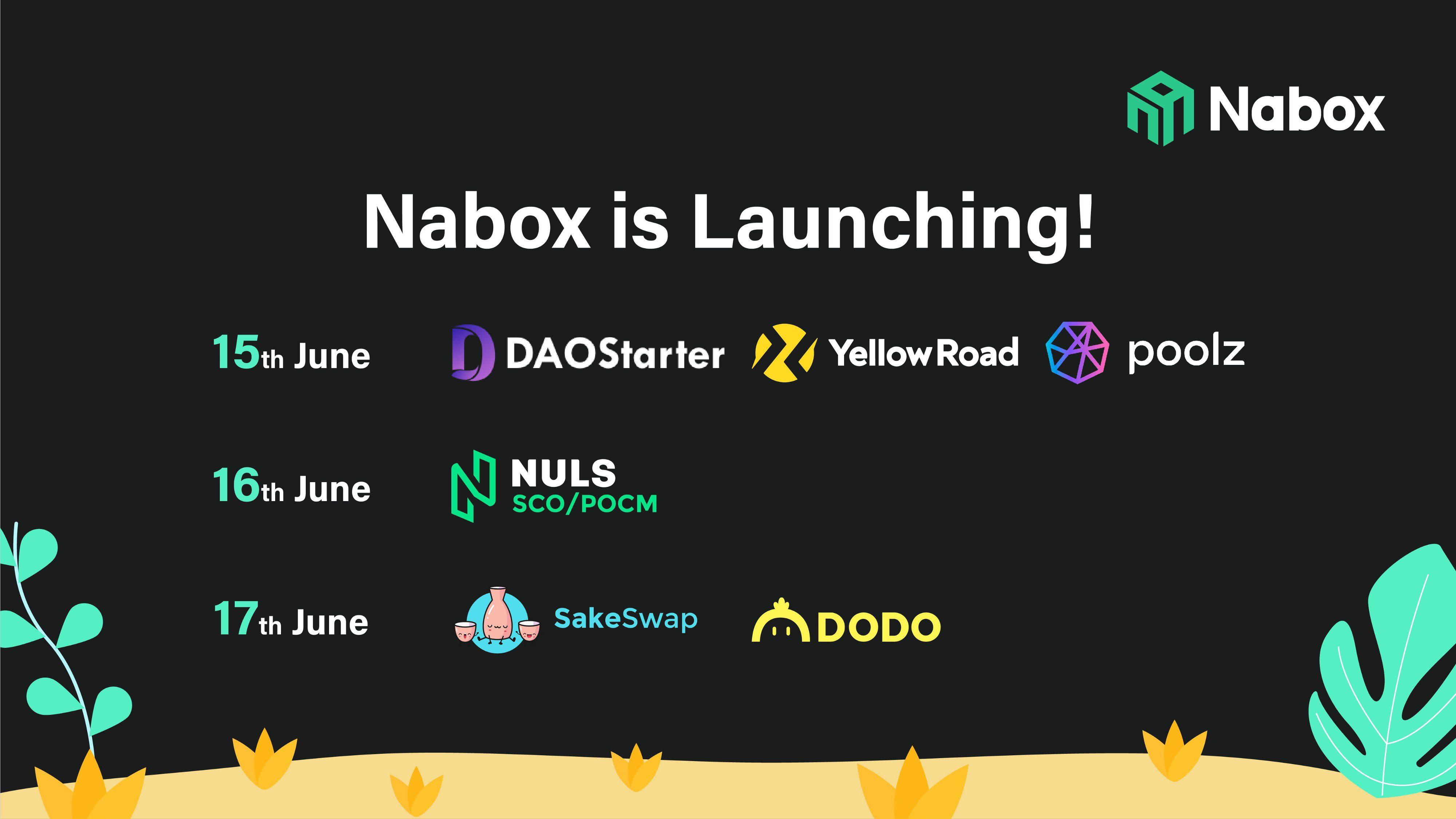 Nabox Launch Partners