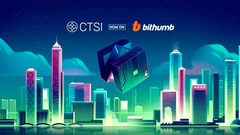 CTSI is Now Listed on Bithumb