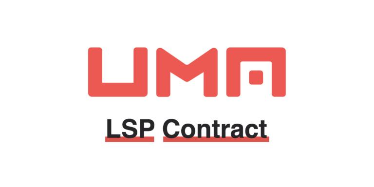 UMA's Long Short Pair Financial Primitive