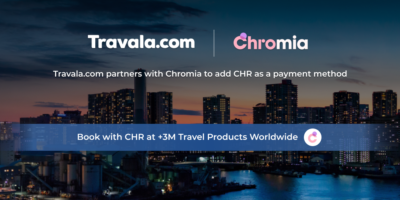 Chromia $CHR to be added as a new payment method on Travalacom