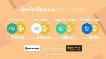 Beefy FinanceNew PancakeSwap Vaults