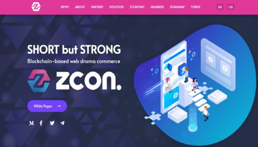 ZCON, Enter the Web Content-Based Shopping Platform Business