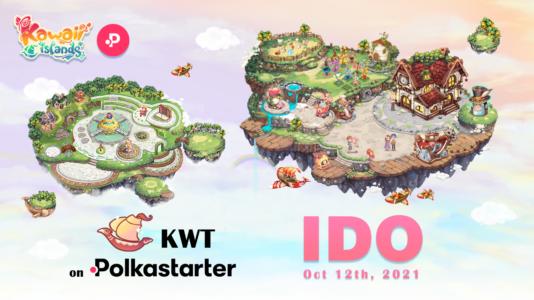 Kawaii Islands (KWT) IDO on Polkastarter