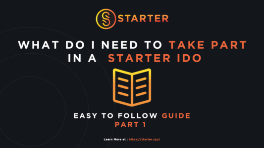 How to Take Part in a Starter IDO on Binance Smart Chain (BSC)