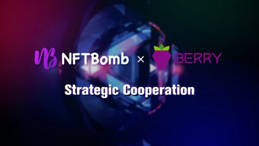 NFTBomb Partnership with Berry Data