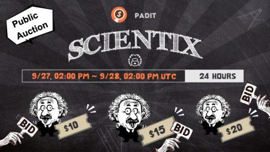 Scientix Finance released an Announcement about Public Auction