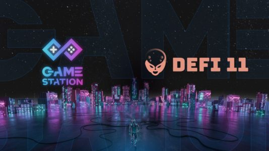 GameStation and DeFi11 Partnership