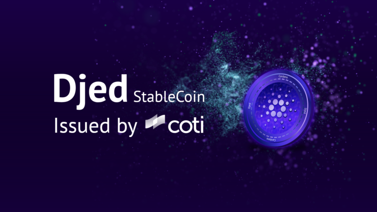 Djed Stablecoin issued by Coti
