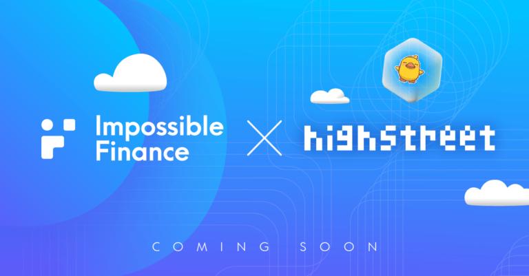 Impossible Finance IDO #4 | Highstreet Token Sale