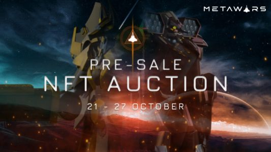 First In-Game MetaWars Exclusive NFT Auction Event