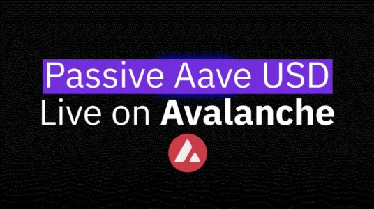 Stake DAO doubles down on Avalanche with the launch of Passive Aave USD Strategy