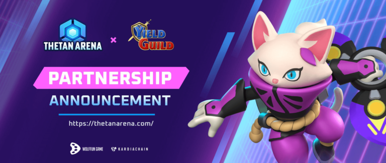 Thetan Arena x Yield Guild Games Collaboration