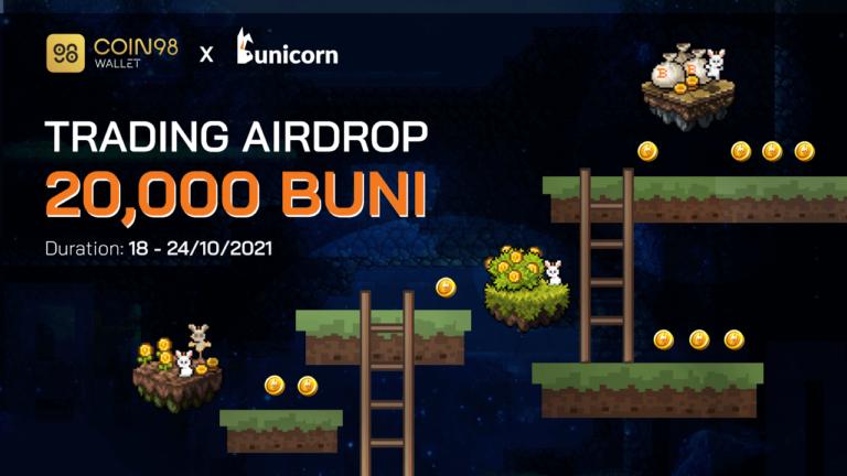 Coin98 Wallet x Bunicorn Trading Airdrop