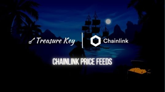 TreasureKey Integrates Chainlink Price Feeds to Fairly Start and Settle Prediction Games