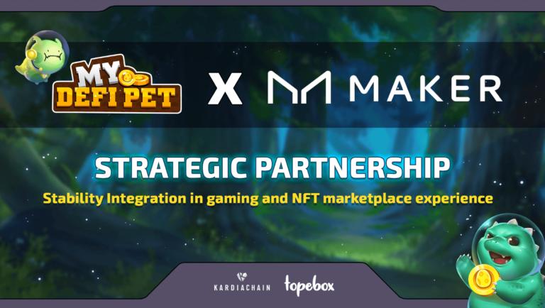 MakerDAO x My Defi Pet Partnership