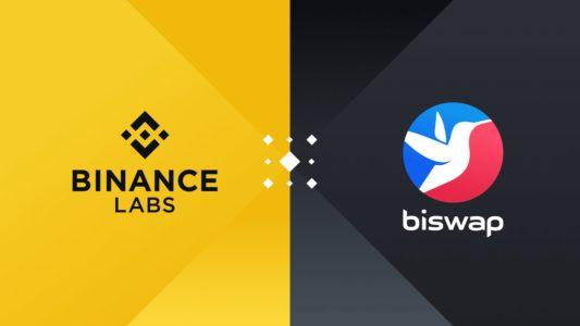 Binance Strategic Investment in Biswap
