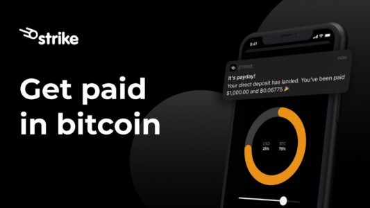 Strike Launches Pay Me In Bitcoin Feature To Allow Income Conversion into Bitcoin